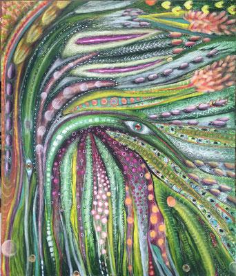 Augi - 130 x 110 cm - VERKAUFT