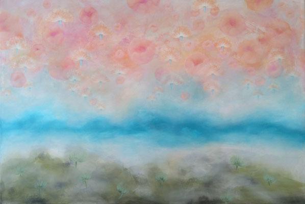 Skyflowers - 100 x 150 cm VERKAUFT