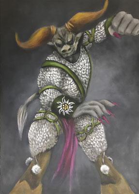 GenDerTaurus - 70 x 50 cm
