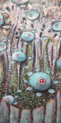 Ziegelsteine 100 x  60 cm - VERKAUFT