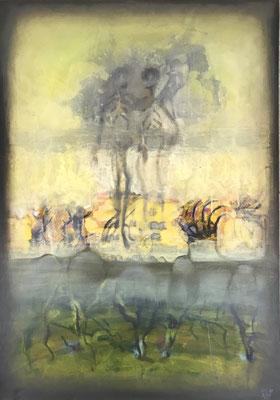 fallOut - 100 x 70 cm