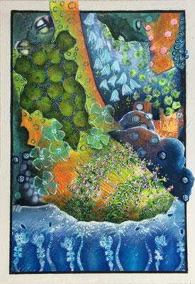 Glücksschuh - 100 x 70 cm