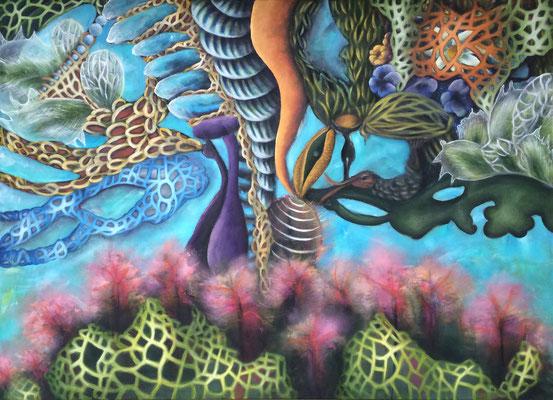 Seelengarten - 110 x 150 cm
