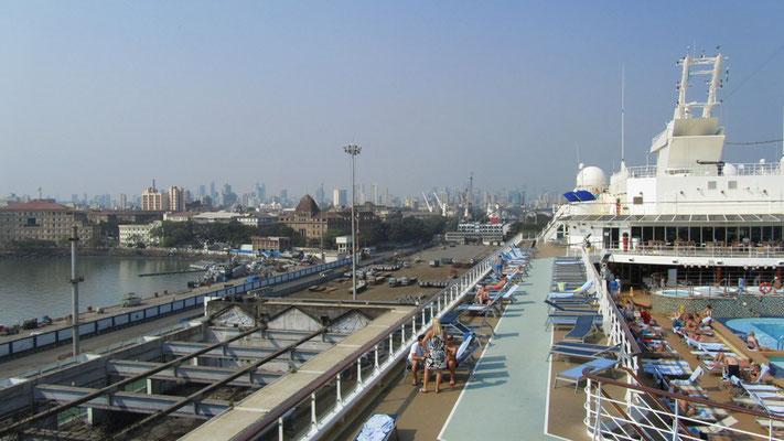 Mumbai-Indien-Hafen