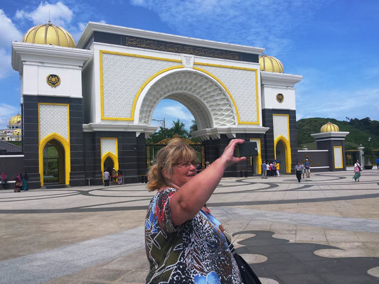 Eingang zum Sultanpalast