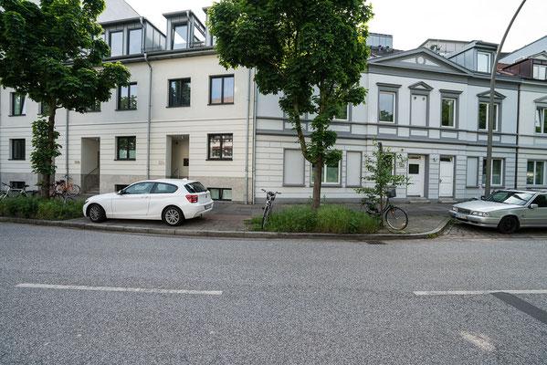 Eppendorfer Landstrasse 145 a-c und 149-53.