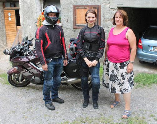 Russland, Tour von 7000 km auf Yahama 1100