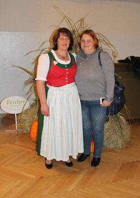 mit Anna (Pflegerin unseres Nachbarn)