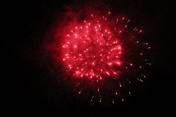 Feuerwerk beim Badesee