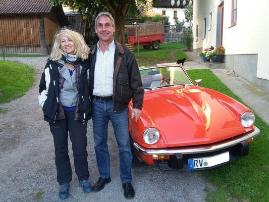 Helmut Utz mit Gattin