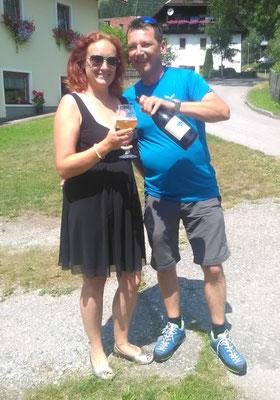 Unser Freund Christoph mit Tanja