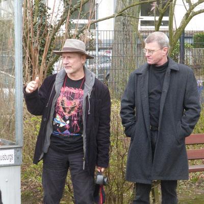 Jürgen Meister - Thomas Krützberg - Kulturdezernent Stadt Duisburg