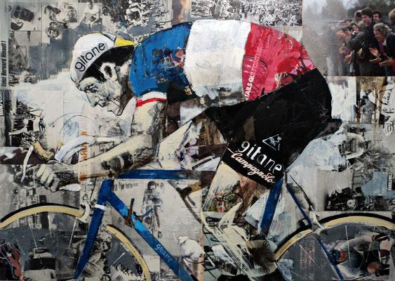 Bernard Hinault - Champion de France - 120x85