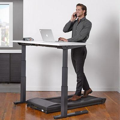 Laufbandschreibtisch Schreibtisch mit Laufband NEVIO