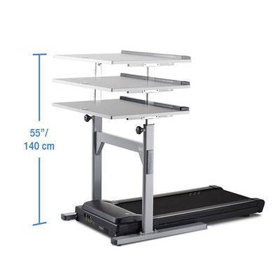 Höehnverstellbarer Schreibtisch mit Laufband NEVIO