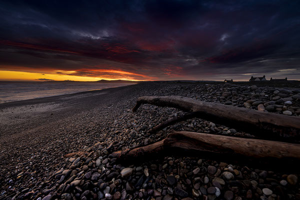 Dramatic sunrise at Spey Bay (Spey Side Way)