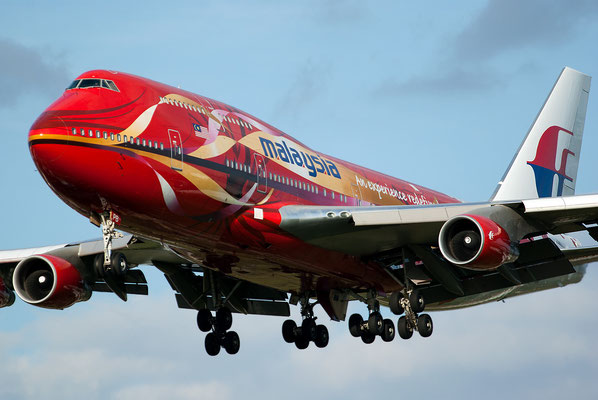 Malaysia Hibiscus B747, London Heathrow, United Kingdom