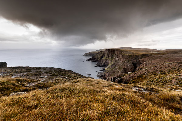 Looking back to Cape Wrath