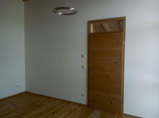 Zimmertür Eiche querfurniert mit Oberlicht