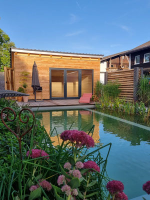 Gartenhaus in Holzbauweise
