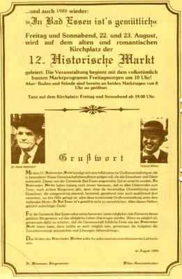 Werbeblatt Teil 2 - 1986