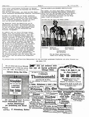 Cabel-Zeitung Teil 2 - 1978