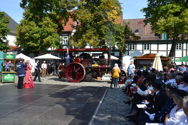 Historischer Markt Bad Essen - Dampfwalze