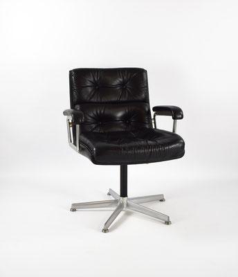 Girsberger Eurochair, 70s Leather Chair, Eames Chair, Mid Century,