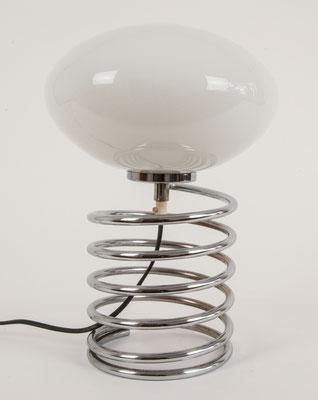 Große Honsel Spiral Lampe 1970s