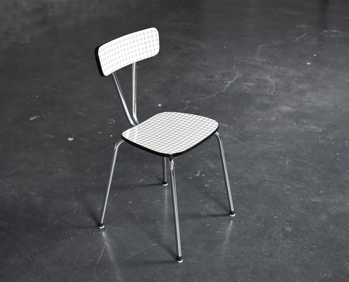 70s Kitchen Chair, Resopal, Küchenstuhl 70er Jahre, 1960er Jahre, Mid Century Modern,