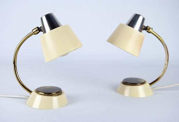Marianne Brandt, Tastlicht, 1930s, Art Deco, Nightstand Lamps, Bauhaus, Ruppel Werke, 60s, 60er Jahre, Nachttisch Lampe,