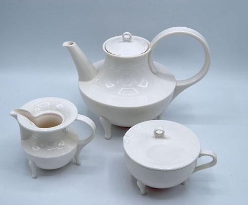 Oscar Tusquets, Victoria, Follies Italy, 1990s, Coffee Set, Kaffeekanne Tusquets, 1990s Design,