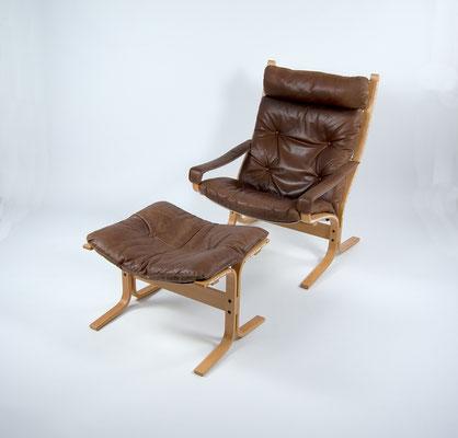 Siesta Lounge Chair, Ingmar Relling, Westnofa Furniture, Norway Furniture, Westnofa Norway, Leather Chair, Mid Century, 60s,