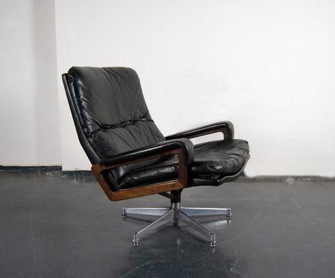 King Chair, Strässle, Andre Vandenbeuck, Lounge Chair, 60s, 70s, Mid Century,