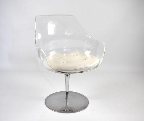 Estelle Laverne Chair, Formes Nouvelles, Champagne Chair, 1960s,