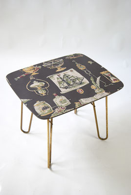 1950s Table with Hair Pin Legs from Ilse Möbel
