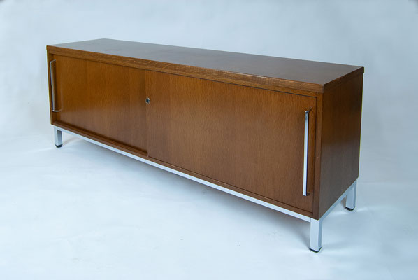 70s Sideboard, Sideboard Oak, 70s, Mid Century, 70er Jahre, Knoll, Florence Knoll, Sideboard Eiche,