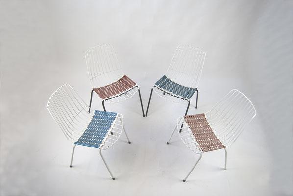 Vintage Gartenstühle, Stiegler Marbach, 70er Jahre Gartenstühle, Spaghetti Stühle 70er Jahre, Vintage,