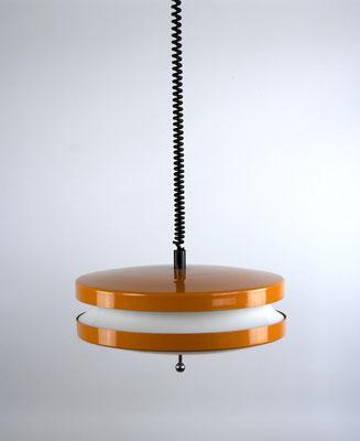 60s Hanging Lamp, Guzzini Lamp, Panton Lamp, Kartell, Bauhaus, Gropius, Space Age Lamp, Küchenlampe 60er Jahre, Mid Century,