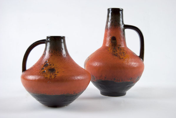 Carstens Atelier, Vase, Pottery, 60s, 70s, Gerda Heuckeroth, Fat Lava, German Pottery, 50s, 60er Jahre, 70er Jahre