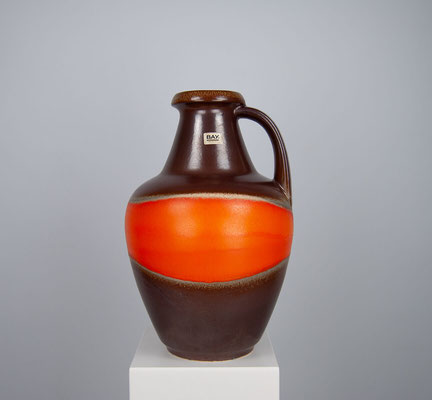 Bay Keramik, Bodenvase Bay Keramik, 60er Jahre Keramik, Mid Century, XXL Vase, 1960s, 1970s, 1950s, Scheurich, Fat Lava,