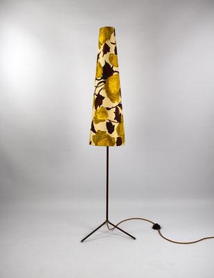 Tripod Floor Lamp, 50s Tripod Lamp, Vintage Lamp, Teak Lamp, Kalmar Floor Lamp, Mid Century,