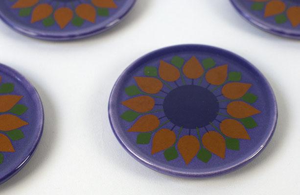 Wächtersbach Untersetzer 60er Jahre Keramik