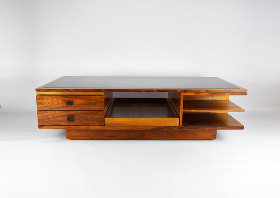 Palisander Table, Mid Century, Palisander Coffee Table, Couchtisch 60er Jahre, Rosewood Sofatable,