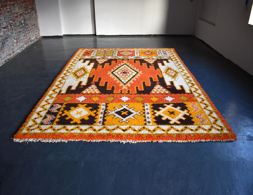 Vintage Berber, Marokko Berber, Vintage Carpet, 250x350 Carpet, Morocco Carpet, Mid Century, 1960s,