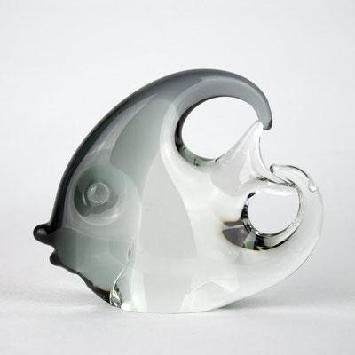 Muranoglas, Glasfisch, Kunstglas, Murano Italy, 1960s, Murano Fisch, Mid Century,