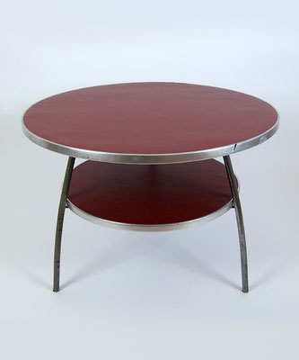 Mauser Tisch rot Bauhaus