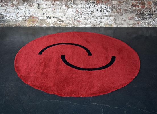 Art Deco Teppich, Eileen Gray, Bauhaus Teppich, Hand Tufted Carpet, Wool Carpet, 1930s Rug, 180cm Teppich,