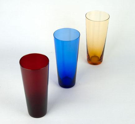 Cocktailgläser, Ingridglas, Ingrid Glashütte, Cocktail Glasses, 1950s, Vintage Glass, Mid Century,