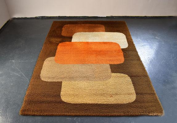 Desso, Vintage Rug, Desso Teppich, Mid Century, Desso Netherland, 1970s Carpet, Vintage Carpet,